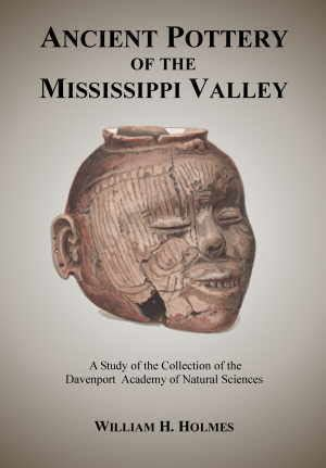 ancient pottery   mississippi valley    holmes