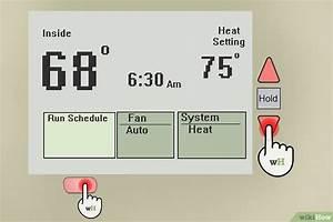 C U00f3mo Programar Un Termostato Manual Honeywell