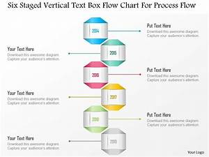 1214 Six Staged Vertical Text Box Flow Chart For Process