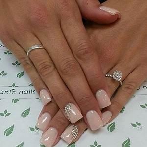 Simple Pink Wedding Nail Art Designs & Ideas 2014 ...