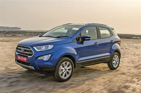 Ford Ecosport Gets More Features, Prices Hiked