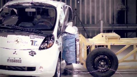 crashtest elektrische auto imiev consumentenbond youtube