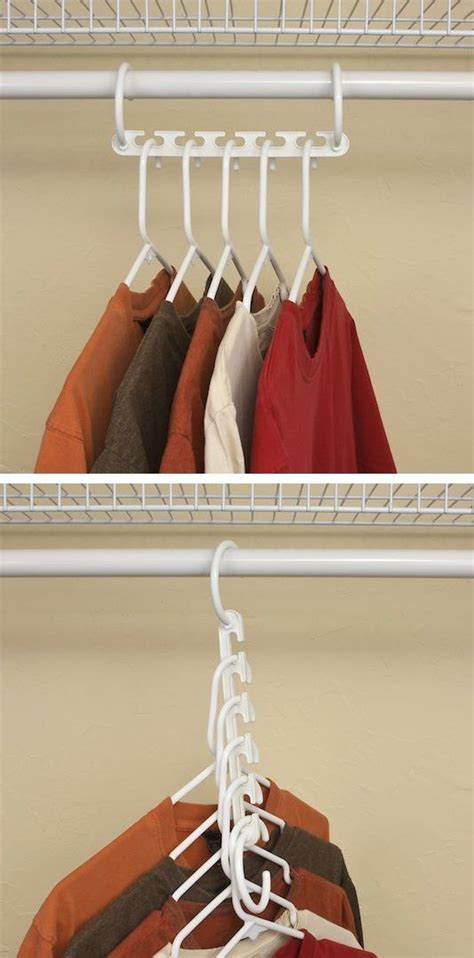 Hangers In Closet by 25 Best Ideas About Space Saving Hangers On
