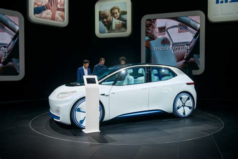 volkswagen id electric car production date  set