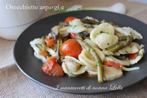 Come Cucinare Le Orecchiette Fresche by Orecchiette Asparagi E Cardoncelli Facile E Gustosa