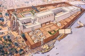 Luxor - Opet Festival_jean claude golvin   Egypt ...
