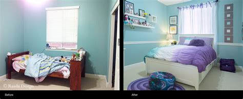 Girl's Dream Bedroom Makeover  Raashi Design  Raashi Design