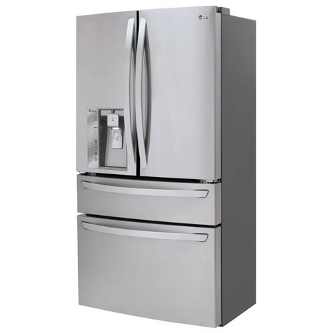 cabinet depth refrigerator lmxc23746s lg appliances collection 36 quot 22 7 cu