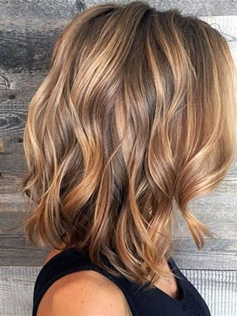 balayage hair color ideas summer   brown  caramel