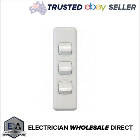 3 switch light switch 3 architrave light switch white electrical