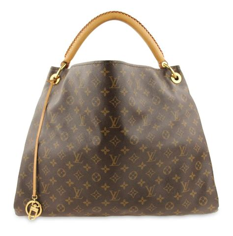 louis vuitton artsy gm monogram brown coated canvas hobo bag tradesy