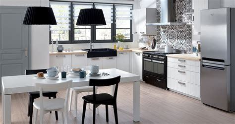 cuisine blanche et inox la cuisine blanche prend des couleurs inspiration cuisine