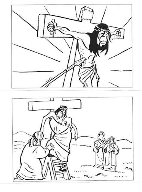 Dibujos del Viernes Santo para imprimir y pintar