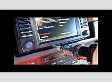 BMW E53 X5 Navigation LCD Screen Replacement DIY YouTube