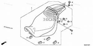 Honda Motorcycle 2013 Oem Parts Diagram For Seat 2