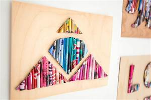 Tips to upcycle old Magazines to wall art - Top Tips Feed