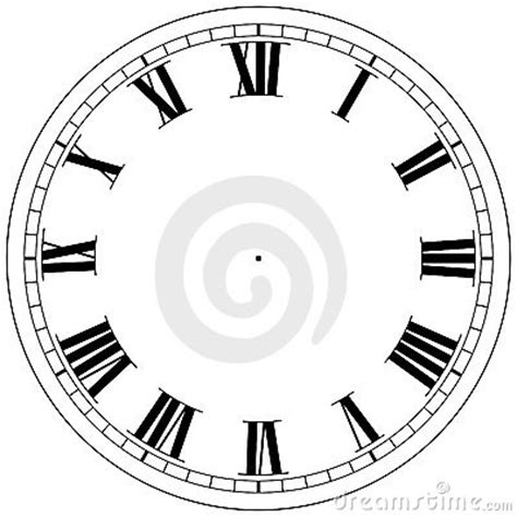 clock template stock photography image