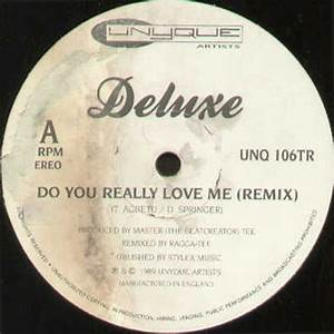 DELUXE So Good / Do You Really Love Me (Remix) Unyque ...