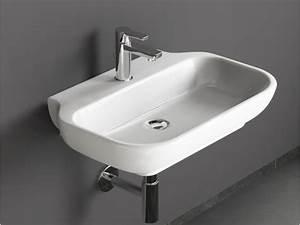 Waschtisch 45 Cm Tief : design keramik waschbecken waschtisch 65 x 45 cm ohne berlauf ~ Bigdaddyawards.com Haus und Dekorationen