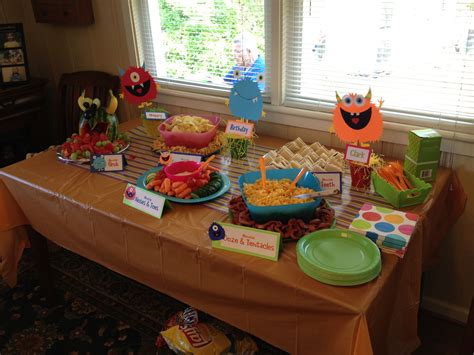 monster party foods ideas  pinterest monster