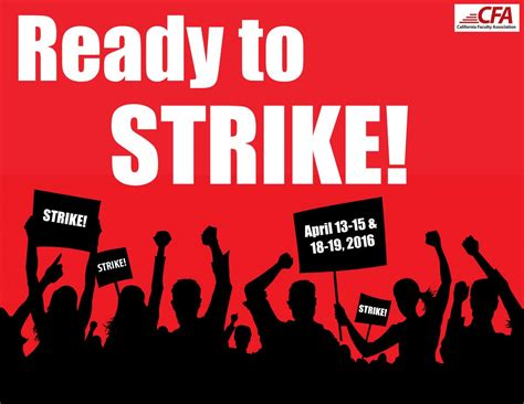 Commit to Strike! - California Faculty Association