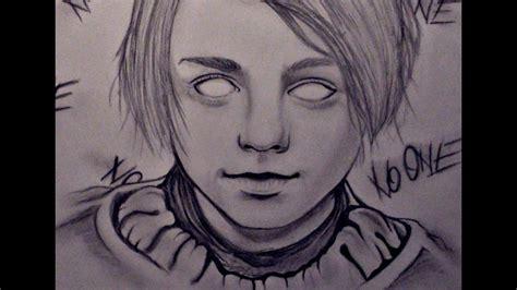 Drawing Arya Stark (game Of Thrones)