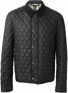 black quilted barn jacket burberry brit quilted jacket With burberry barn jacket