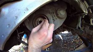 Honda Accord Crank Pulley    Harmonic Balancer Bolt Removal
