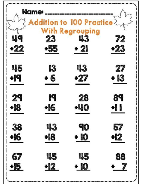 2nd grade math worksheet subtraction with borrowing 17 best images about add subtract with regrouping on