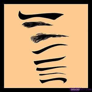 How to Draw Eyebrows, Step by Step, Eyes, People, FREE ...