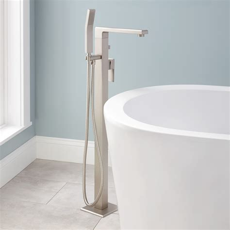free standing tub faucet ryle freestanding tub faucet and shower bathroom