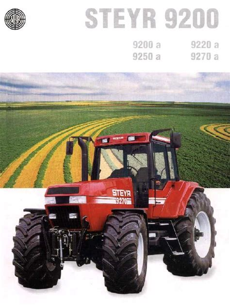 Steyr 9270  Tractor & Construction Plant Wiki The