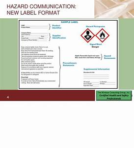 osha hazard communication and ghs requirements for product With ghs sds requirements