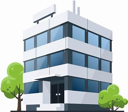 Building Office Cartoon Clip Medical Clipart Commercial