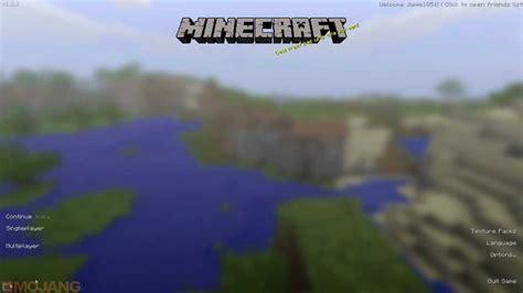 minecraft fancy gui mod  title screen youtube