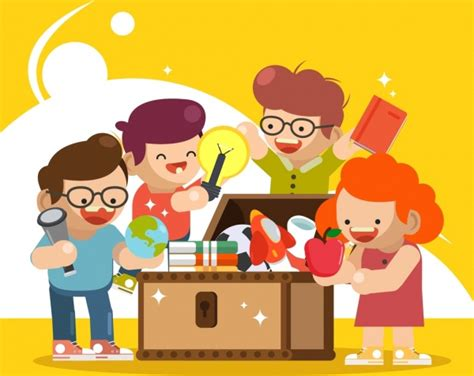 Kids Playing Vector Free Vector Download (2,884 Free