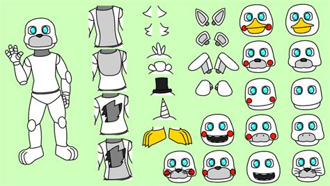 Fnaf Base (to Be Added To) By Mixieroast On Deviantart