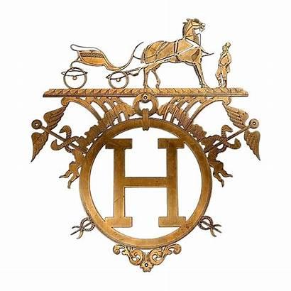Hermes Paris Boutique Clipart Sign Decorative Bag