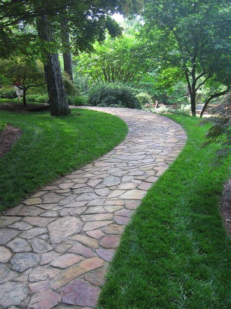 pathways in gardens flagstone pathway at gibbs gardens steps pathways pinterest flagstone pathway flagstone