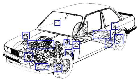 Bmw E30 Engine Diagram by E30 Bmw Buying Guide Translated From German Rts Your