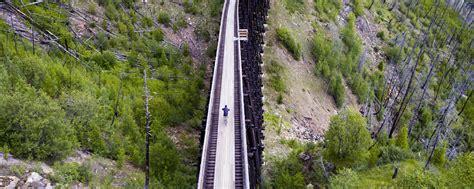 myra canyon trestles kettle valley railway