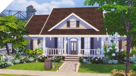 sims  speed build suburban family home