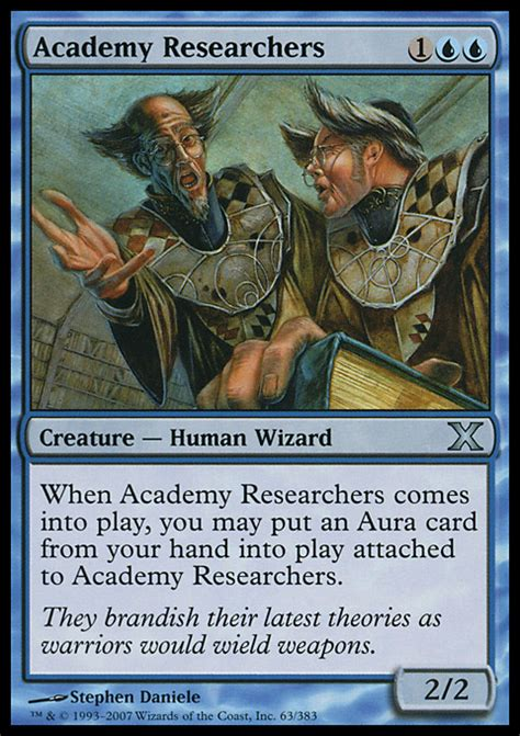 sorcerer of magic deck build academy researchers magic the gathering card info