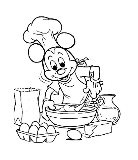 dessin animé de cuisine 79 dessins de coloriage cuisine à imprimer sur laguerche