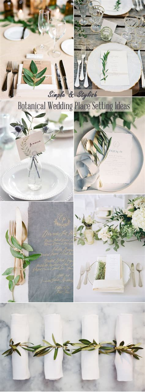 2017 trends easy diy organic minimalist wedding ideas