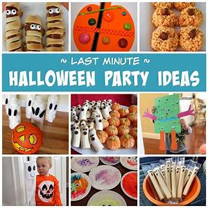 Toddler, Approved, Last, Minute, Halloween, Party, Ideas