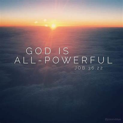 God Powerful Quotes Bigger Word Remember Words