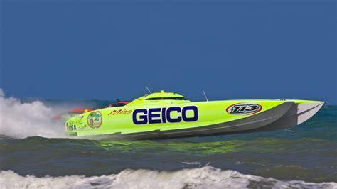 Boat Car Race by Miss Geico Racing Team Miss Geico Racing