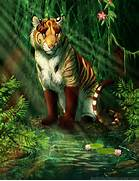 Jungle by Whiluna on DeviantArt  Jungle Drawing With Animals