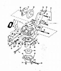 Johnson Carburetor Parts For 1972 25hp 25e72r Outboard Motor